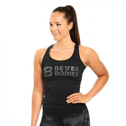 Better Bodies Tílko Chrystie T-Back černé