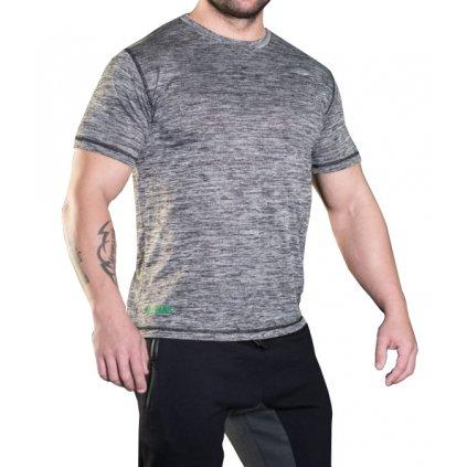 MadMax tričko s krátkým rukávem MSW308 šedé