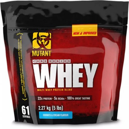 Mutant Core Series Whey 2270 g
