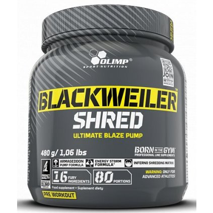 Olimp Blackweiler Shred 480 g