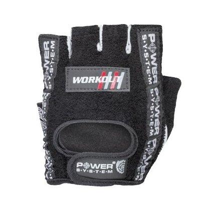 Power System fitness rukavice Workout černé