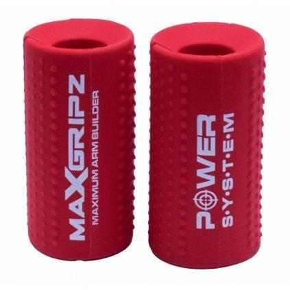 Power System Gripy na posilovací tyč Max Gripz     M