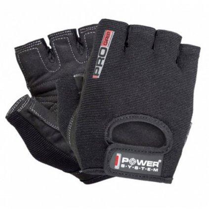 Power System Rukavice Pro Grip černé