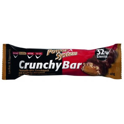 Power System Crunchy Bar 32% 45g