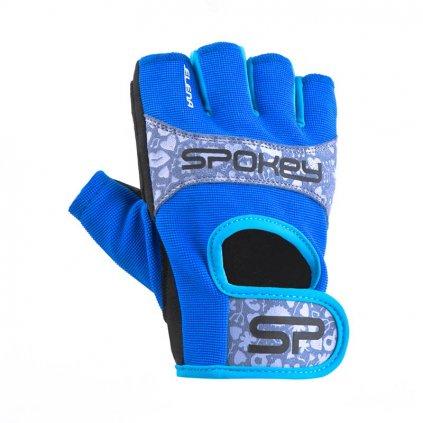 Spokey Elena II Dámské fitness rukavice     modré
