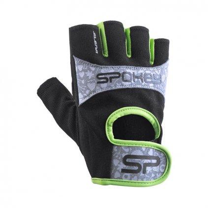 Spokey Elena II Dámské fitness rukavice     černé