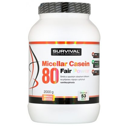 Survival Micellar Casein 80 Fair Power     2000 g