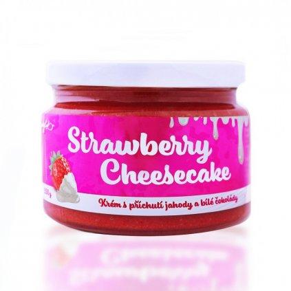 Ladylab Strawberry cheesecake krém s příchutí jahody a     čokolády 250g