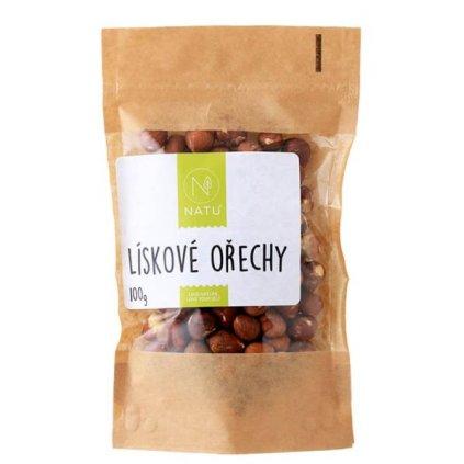Natu Lískové ořechy 100g