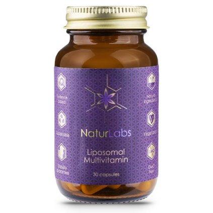 NaturLabs Liposomální multivitamín     30kapslí