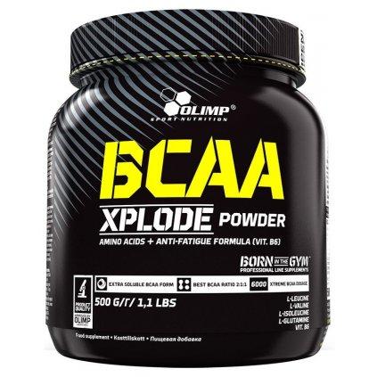Olimp BCAA Xplode Powder 500g     VÝPRODEJ!