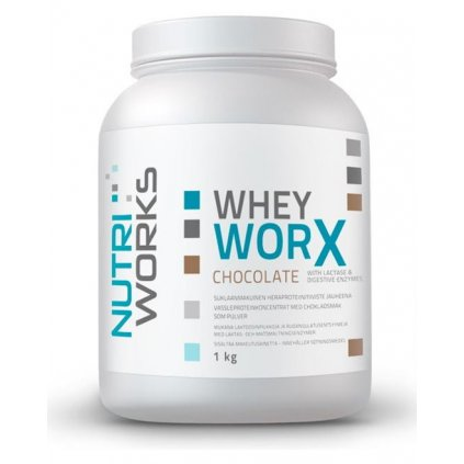 NutriWorks Whey Worx 1000g