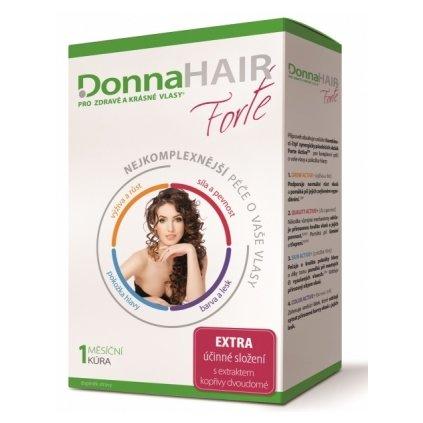 Donna Hair Forte Péče o vlasy 1měsíční kůra 30kapslí