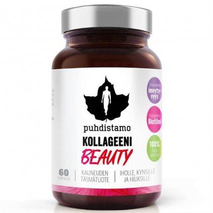 Puhdistamo Collagen Beauty (Kolagenové peptidy Verisol) 60 kapslí