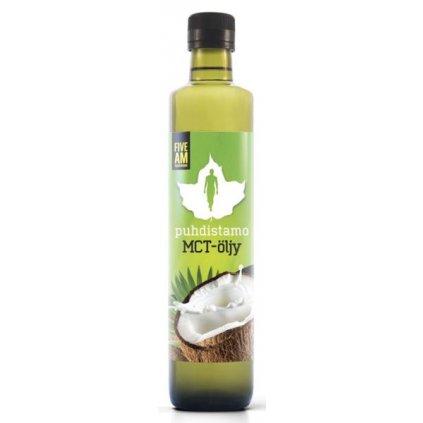 Puhdistamo MCT Oil (Olej s triglyceridy se středně     dlouhým řetězcem) 500ml