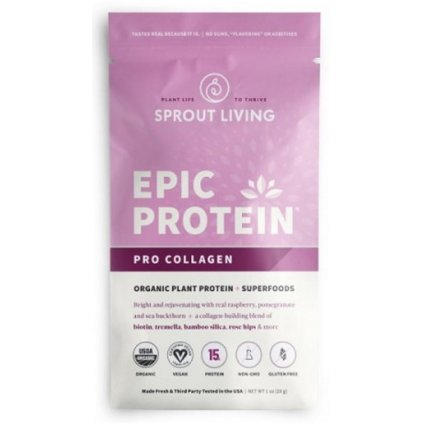 Sprout Living Epic protein organic Pro Collagen 28     g