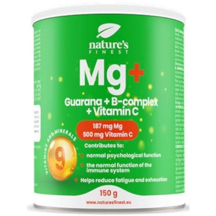 Nutrisslim Magnesium + Guarana + B-Complex + Vitamin C 150 g