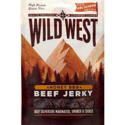 Wild West Hovězí Jerky 25g