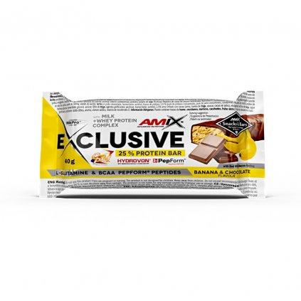 Amix Exclusive Bar 40g VÝPRODEJ!