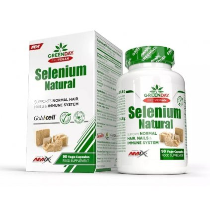 Amix ProVegan Selenium Natural 90 kapslí