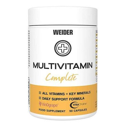 Weider Multivitamin Complete 90kapslí
