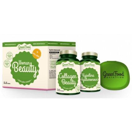 GreenFood Woman Beauty + Pillbox