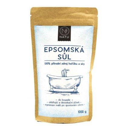 Natu Epsomská sůl 1000g