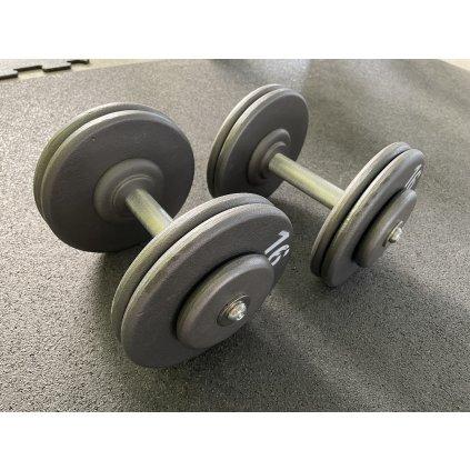 Jednoručky kovové 2 kg - cena za pár
