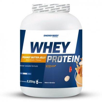 Whey Protein 2,25kg arašídové máslo