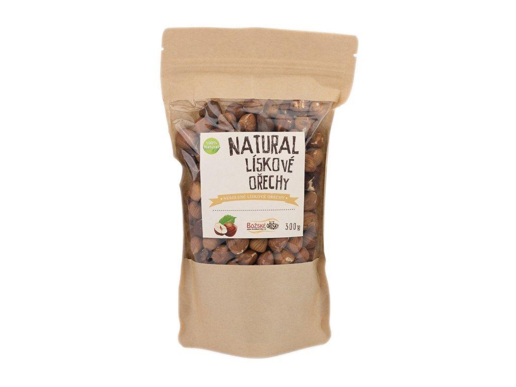 552 natural liskove orechy 300g