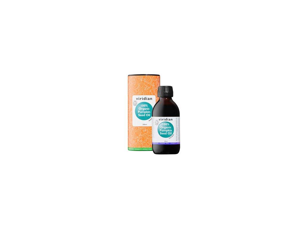 Pumpkin Seed Oil 200ml Organic (Olej z dýňových semínek Bio)