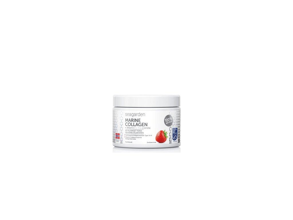 Marine Collagen + Vitamin C 150g jahoda