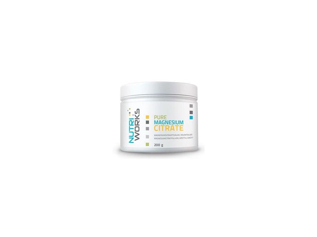 Pure Magnesium Citrate 200g (Čistý citrát hořečnatý)