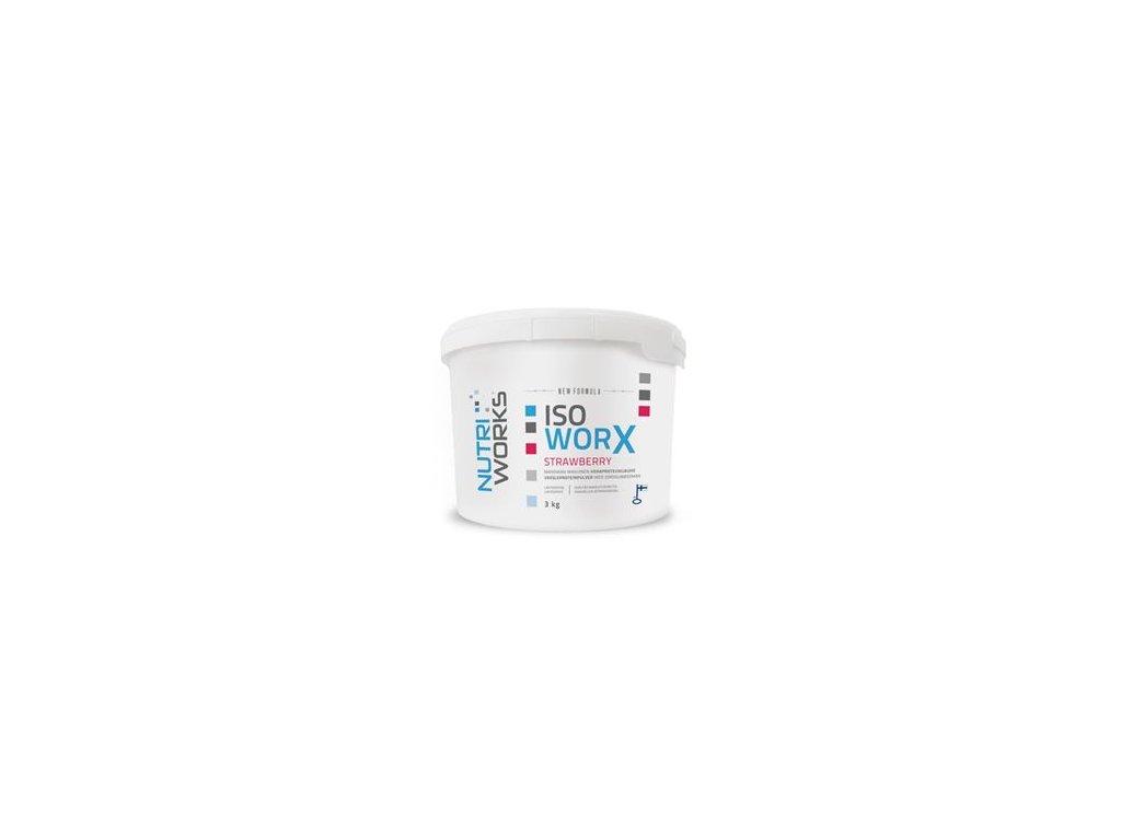 Iso Worx NEW FORMULA 3kg + Vitamin C 200g ZDARMA