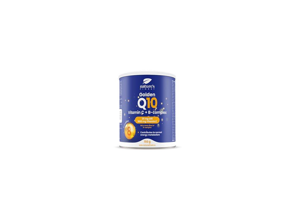 Golden Q10 + Vitamin C + B-Complex 150g (Koenzym Q10 + Vitamín C + B-komplex)