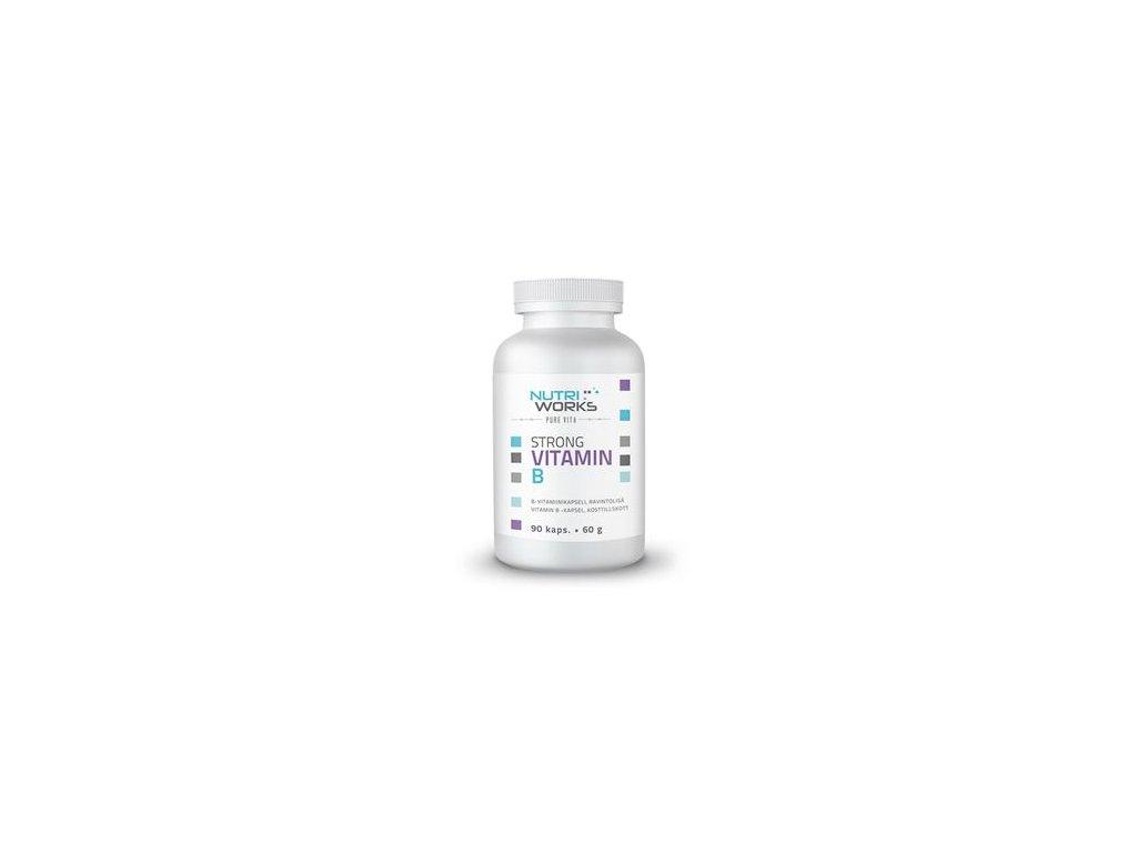 Strong Vitamin B 90 kapslí (Silný vitamín B)