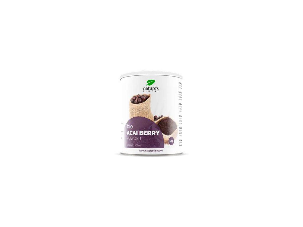 Acai Berry Powder Bio 60 g (Prášek z plodů Acai)