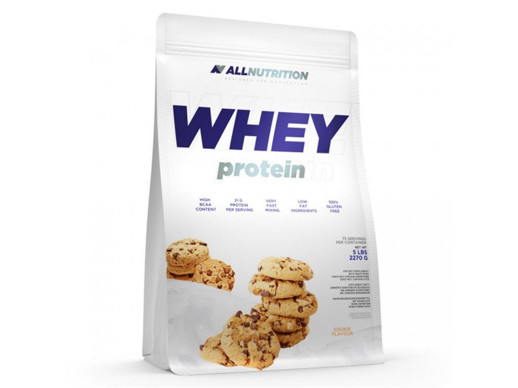 Allnutrition Whey Protein Vanilka 2270g