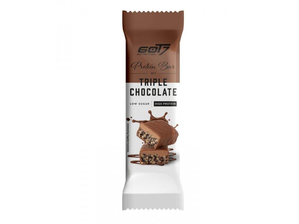 Got7 Protein bar 60g triple chocolate