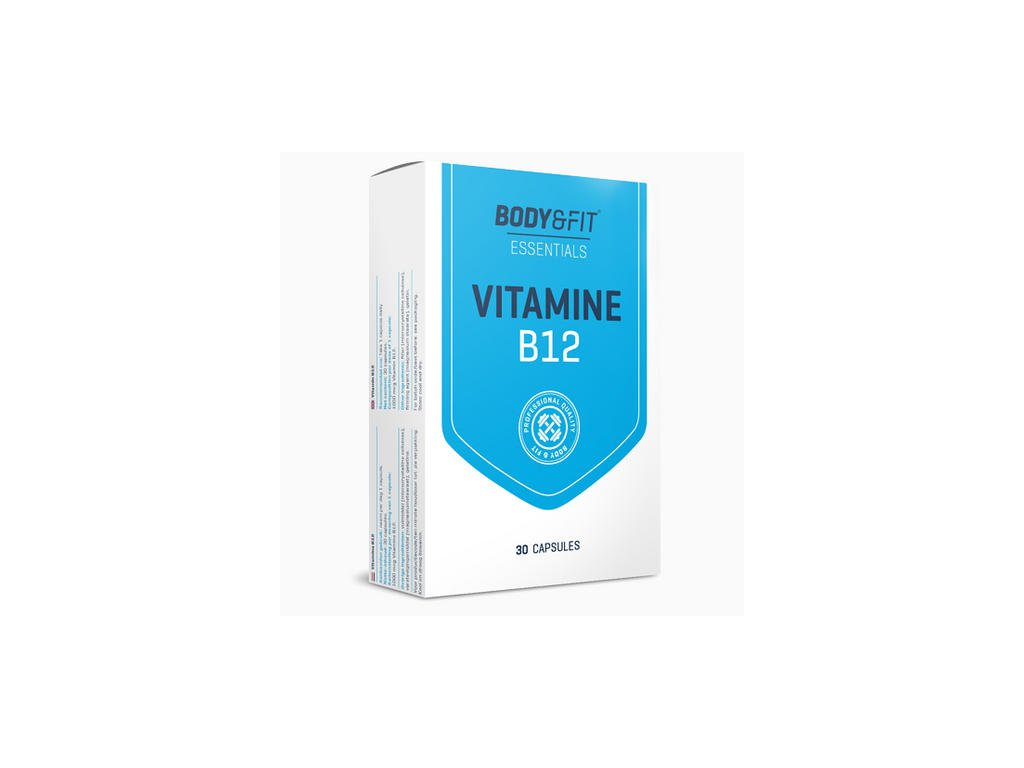 Body & Fit Vitamin B12 30cps