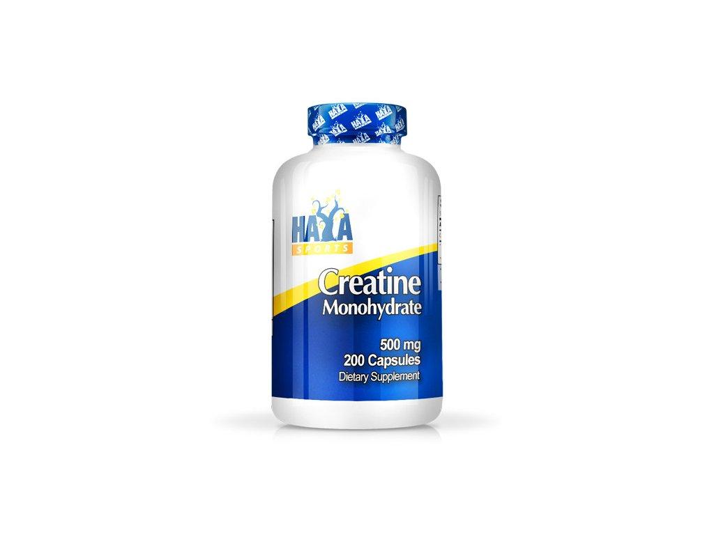 Haya Labs Sports Creatine Monohydrate 500mg 200 kapslí