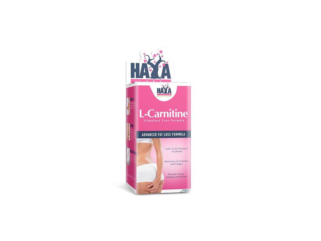 Haya Labs L-Carnitine 250mg 60 kapslí