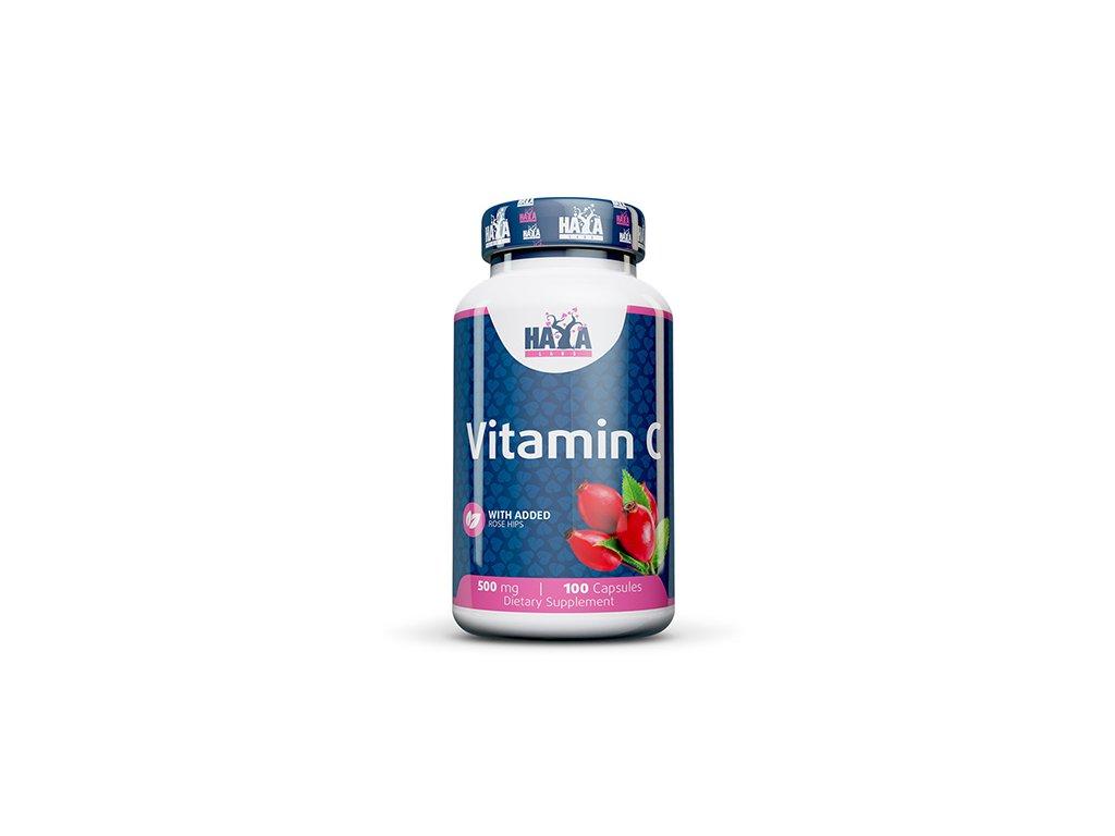 Haya Labs Vitamin C with rose hips 500mg
