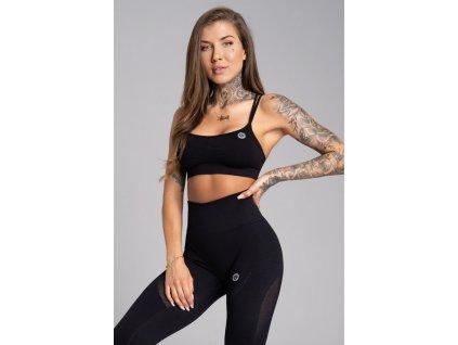 Gym Glamour Podprsenka Seamless Black