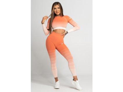 Gym Glamour Legíny Bezešvé Coral Ombre