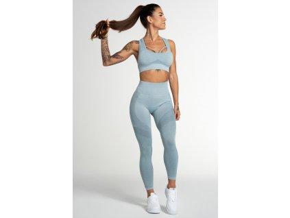 Gym Glamour Legíny Bezešvé Fusion Blue