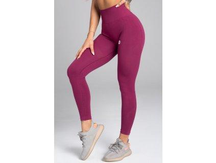 Gym Glamour Legíny Bezešvé Jelly Berry