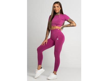 Gym Glamour Legíny Bezešvé Second Skin Pink