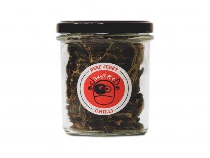 956 jimmy s food jerky chilli ve sklenici 100g.png
