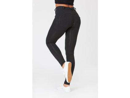 Boost Pants Mid Waist Black